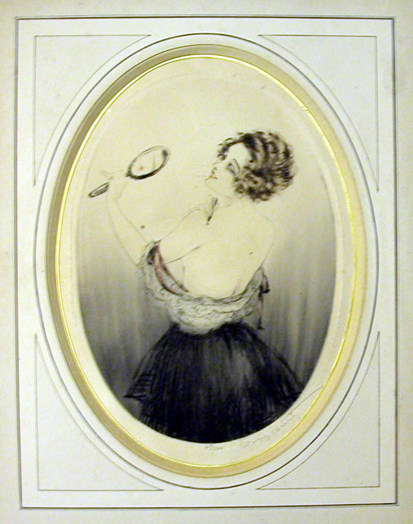 Louis Icart Beauty Mark