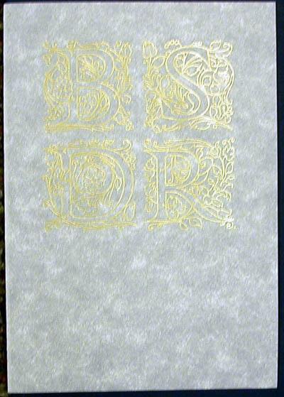 Salvador Dali - Biblia Sacra - Certificate of Authenticity