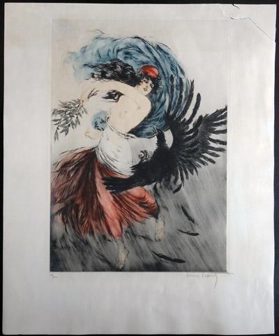 Louis Icart Bird of Prey