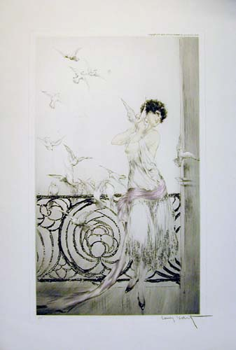Louis Icart Birds of July