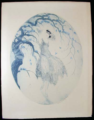 Louis Icart Bluebirds