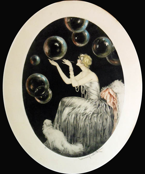 Louis Icart Bubbles