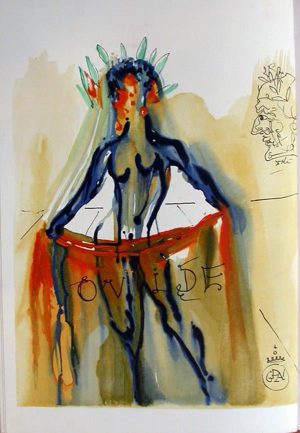 Salvador Dali - L'Art de Aimer - Ovide - C