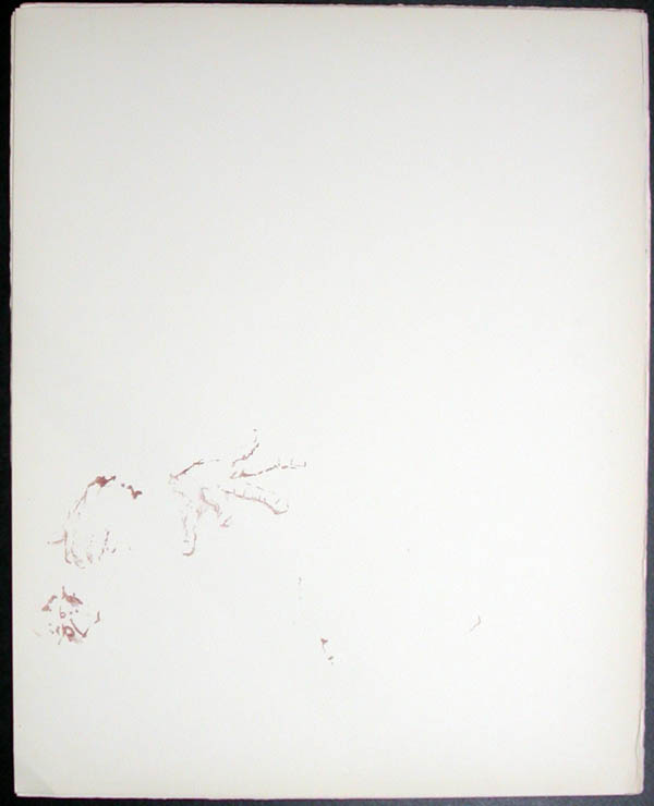 Salvador Dali - Don Quichotte de la Mancha, Book A - 1957 - Don Quichotte Accable Don Quichotte Overwhelmed - #4