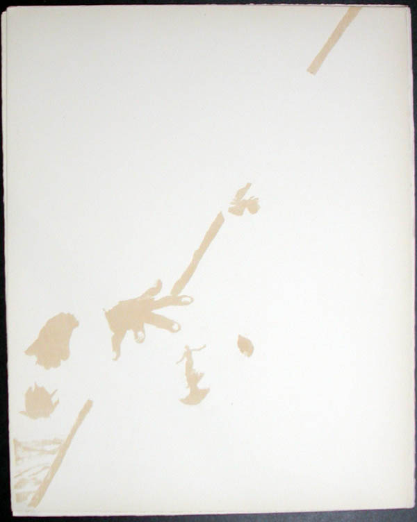Salvador Dali - Don Quichotte de la Mancha, Book A - 1957 - Don Quichotte Accable Don Quichotte Overwhelmed - #5