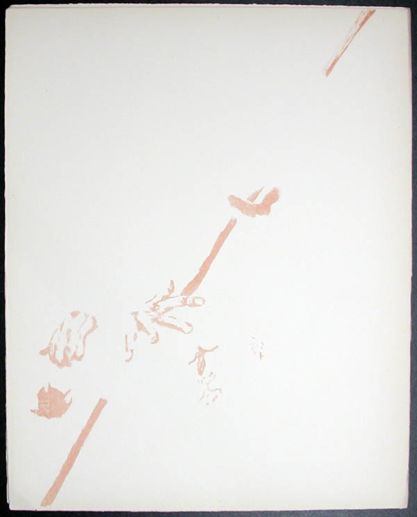 Salvador Dali - Don Quichotte de la Mancha, Book A - 1957 - Don Quichotte Accable Don Quichotte Overwhelmed - #8