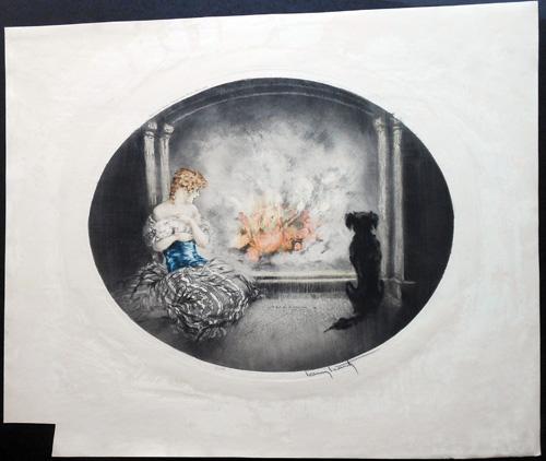 Louis Icart Cinderella
