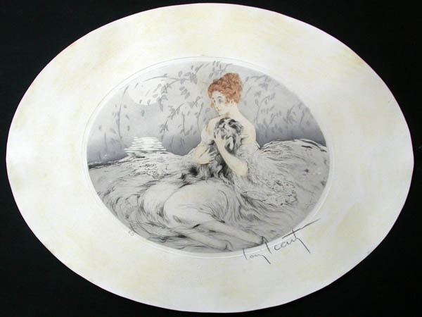 Louis Icart Contentment