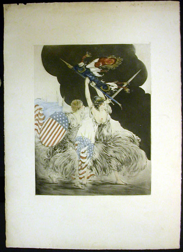Louis Icart Courage My Legions