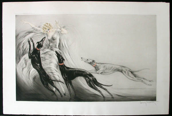 Louis Icart Coursing II