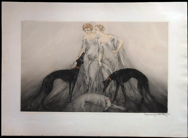 Louis Icart Coursing III