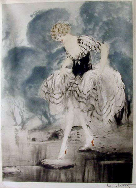 Louis Icart Crossing