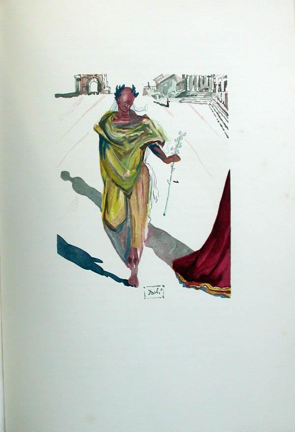Salvador Dali - L'Art de Aimer - Ovide - D