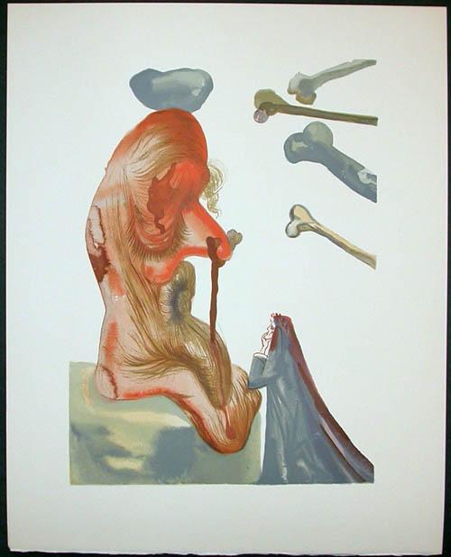 Salvador Dali - Divine Comedy Decomposition - DC41.jpg