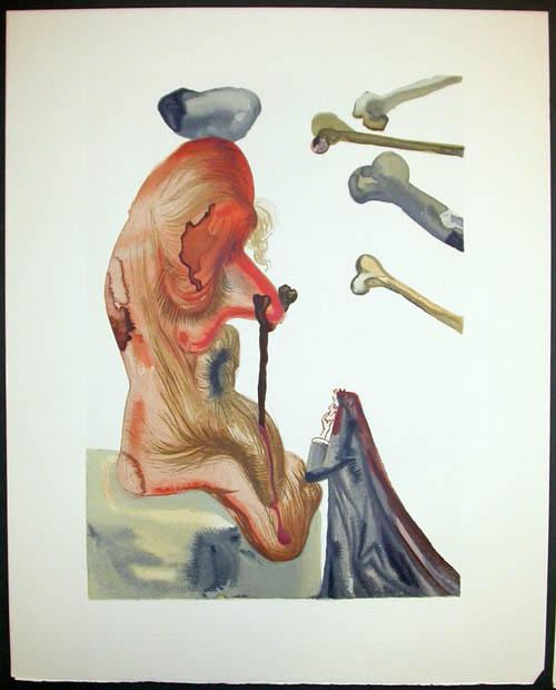Salvador Dali - Divine Comedy Decomposition - DC67.jpg