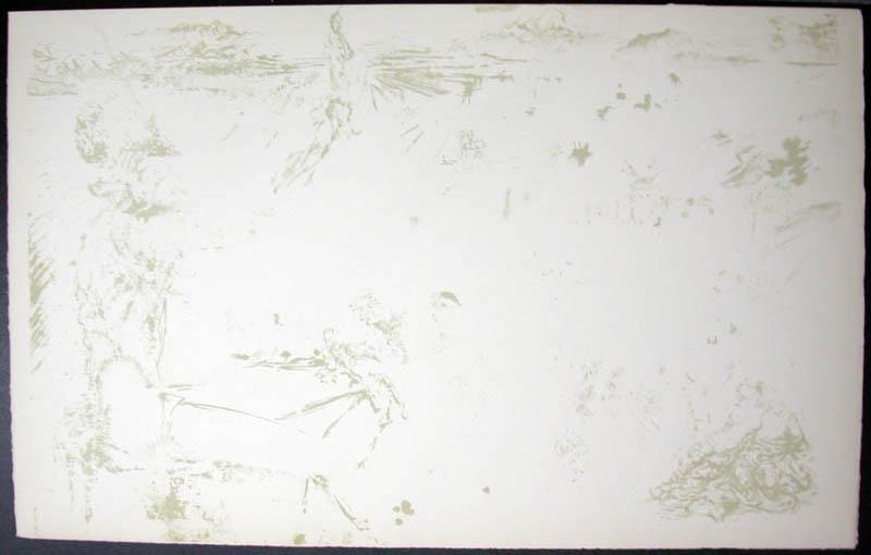 Salvador Dali - Don Quichotte de la Mancha, Book A - 1957 - L'age d'or The Golden Age - #16