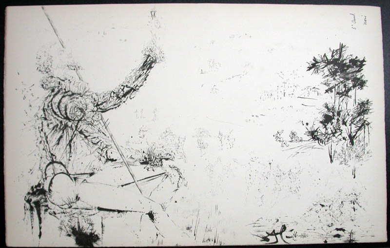 Salvador Dali - Don Quichotte de la Mancha, Book A - 1957 - L'age d'or The Golden Age - #3