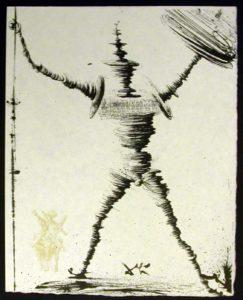 Salvador Dali - Pages choisies de Don Quichotte de la Mancha - Don Quichotte