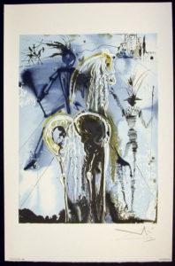 Salvador Dali - Les Chevaux de Dali - Don Quichotte