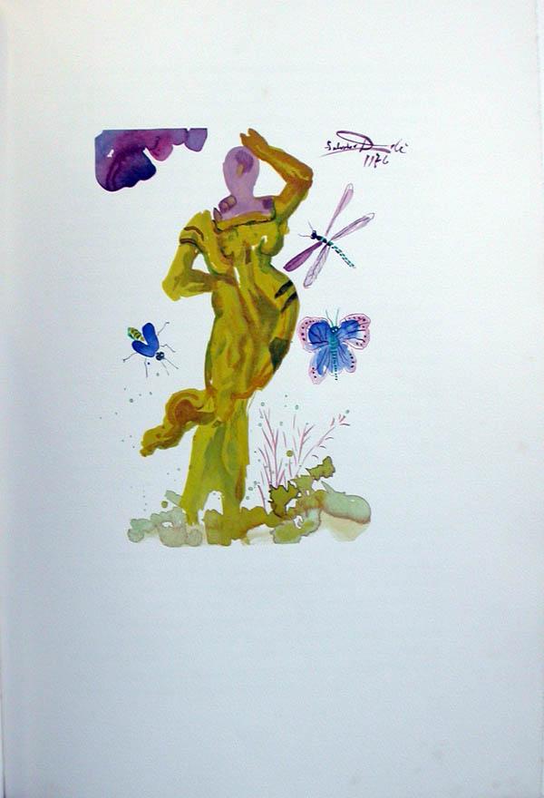Salvador Dali - L'Art de Aimer - Ovide - E