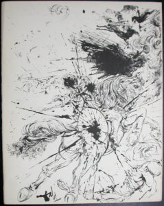 Salvador Dali - Don Quichotte de la Mancha, Book A – 1957 - Apparition de Dulcinne
