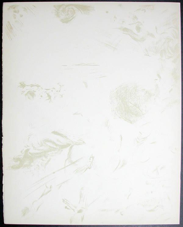 Salvador Dali - Don Quichotte de la Mancha, Book A - 1957 - Apparition de Dulcinne - #11