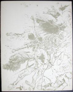 Salvador Dali - Don Quichotte de la Mancha, Book A - 1957 - Apparition de Dulcinne - #2