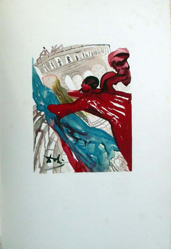 Salvador Dali - L'Art de Aimer - Ovide - F
