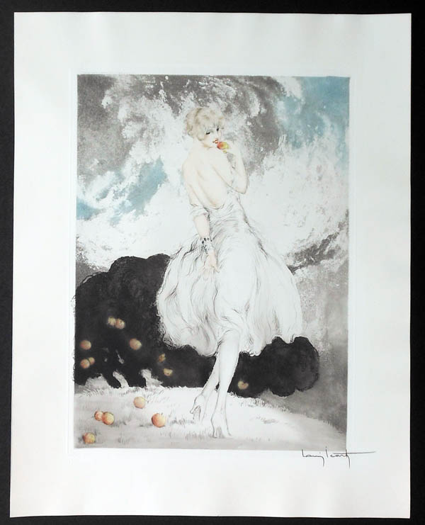 Louis Icart Forbidden Fruit