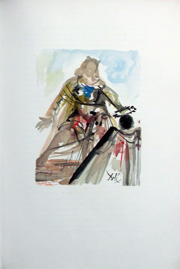 Salvador Dali - L'Art de Aimer - Ovide - G