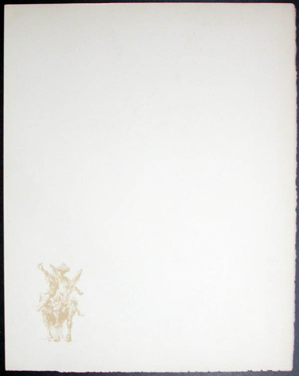 Salvador Dali - Don Quichotte de la Mancha, Book A - 1957 - Don Quichotte - #2