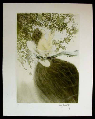 Louis Icart Grapes