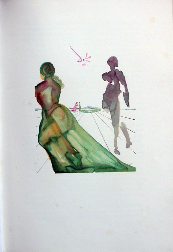 Salvador Dali - L'Art de Aimer - Ovide - H