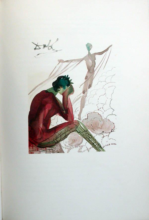 Salvador Dali - L'Art de Aimer - Ovide - I