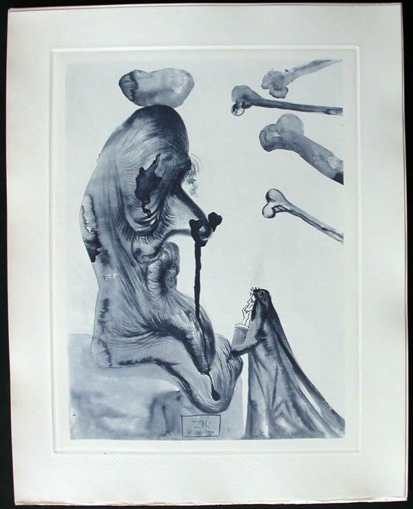 Salvador Dali - Divine Comedy Complete Books - The Flatterer