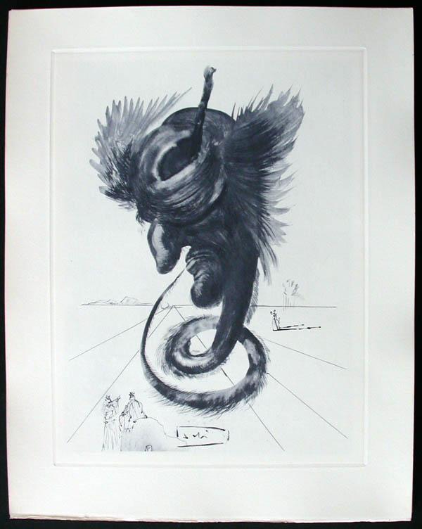 Salvador Dali - Divine Comedy Complete Books - The Black Cherub