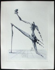 Salvador Dali - Divine Comedy Complete Books - Bertram dal Bornio