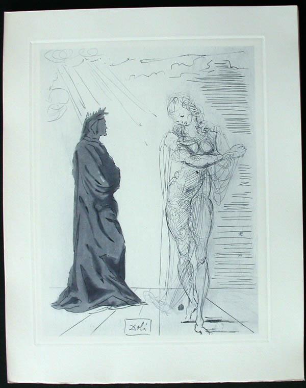 Salvador Dali - Divine Comedy Complete Books - Reassurance