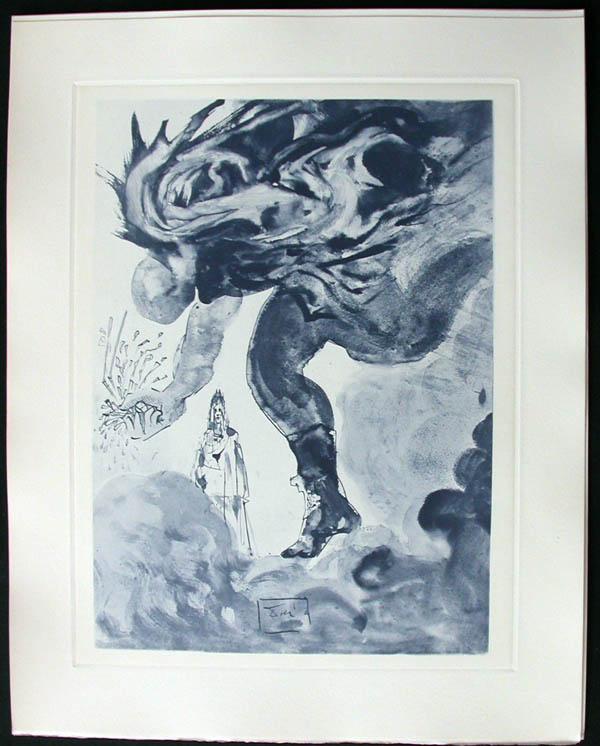Salvador Dali - Divine Comedy Complete Books - The Prophecy ofVanni Fucci