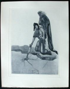 Salvador Dali - Divine Comedy Complete Books - The Traitor of Montaperti