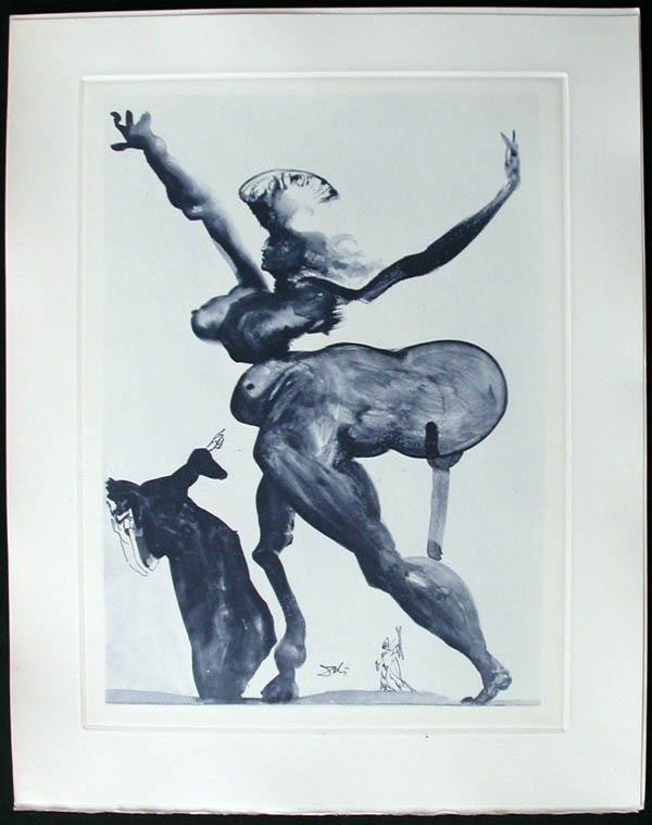 Salvador Dali - Divine Comedy Complete Books - Manto