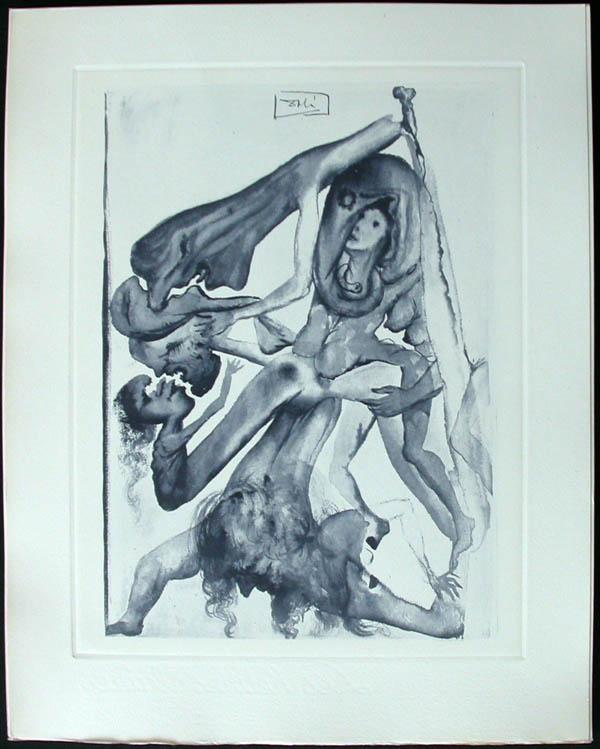 Salvador Dali - Divine Comedy Complete Books - News of theThe Limbos