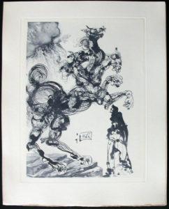 Salvador Dali - Divine Comedy Complete Books - Cerberus