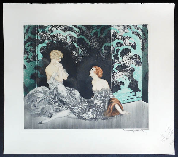 Louis Icart Intimacy