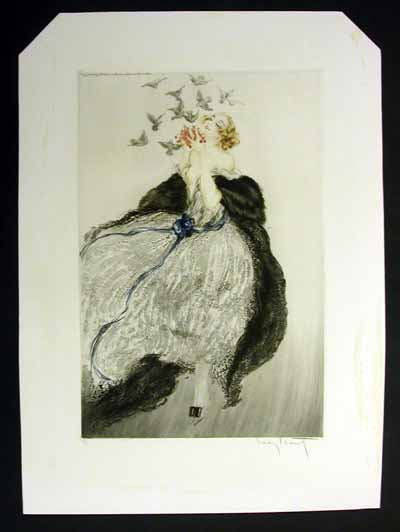 Louis Icart Invitation