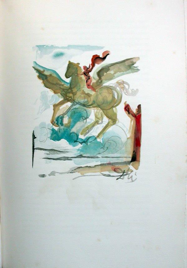 Salvador Dali - L'Art de Aimer - Ovide - J