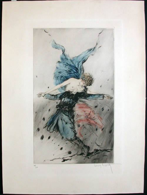 Louis Icart Kiss of the Motherland