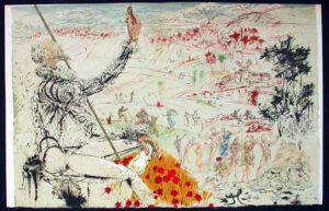 Salvador Dali - Pages choisies de Don Quichotte de la Mancha - The Golden Age