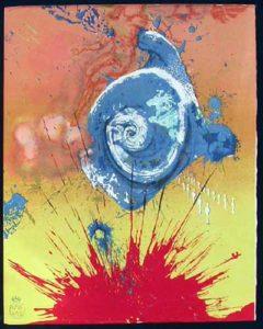 Salvador Dali - Pages choisies de Don Quichotte de la Mancha - L'aurore