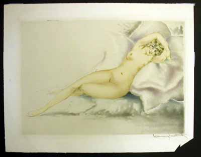 Louis Icart Laughing